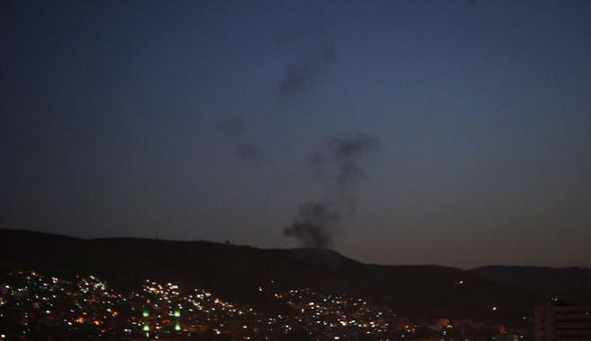 αεροπορική επίθεση στη Συρία