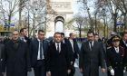"""Ο Γάλλος πρόεδρος για """"αυτοψία"""" στην Αψίδα του Θριάμβου"""