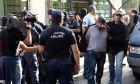 Στο Ηράκλειο απολογούνται σήμερα οι απαγωγείς του επιχειρηματία Λεμπιδάκη,Σάββατο 7 Οκτωβριου 2017  (EUROKINISSI/ΣΤΕΛΙΟΣ ΡΑΠΑΝΗΣ)