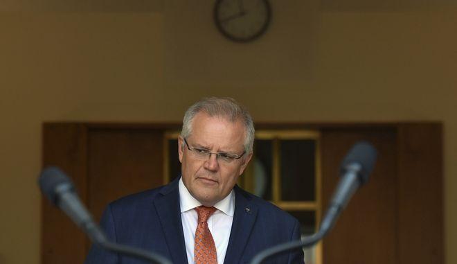 Ο Αυστραλός Πρωθυπουργός, Σκοτ Μόρισον