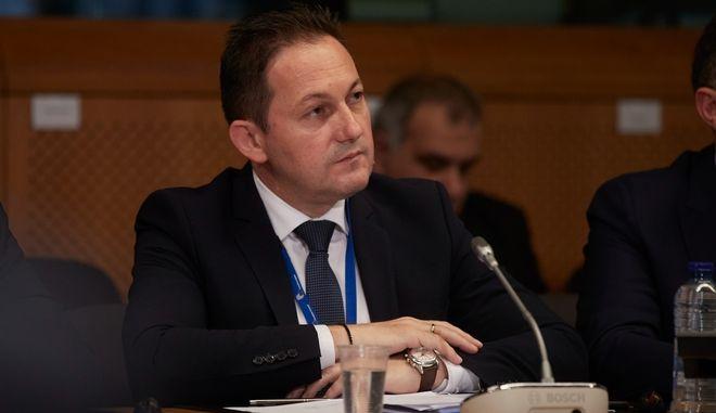 Ο Κυβερνητικός Εκπρόσωπος Στέλιος Πέτσας.