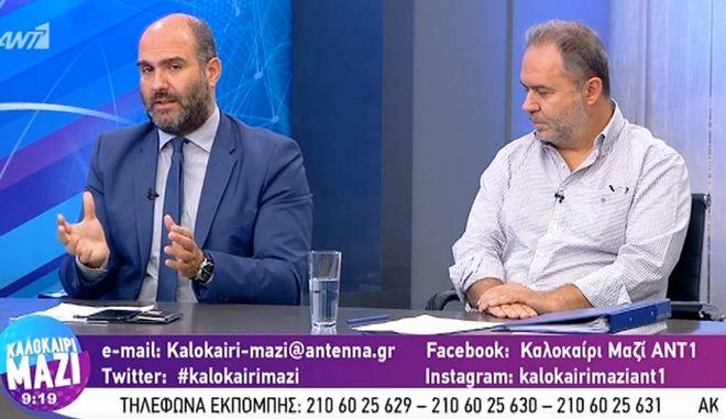 Μαρκόπουλος: Αν τρέξει λίγο αιματάκι από μπαχαλάκια μην πούμε πω πω το παιδί