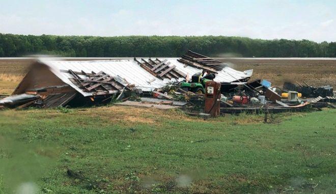 ΗΠΑ: Τουλάχιστον έξι νεκροί στο Μισισίπι εξαιτίας ανεμοστρόβιλων