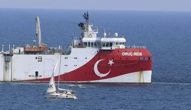 Το ερευνητικό σκάφος Ορούτς Ρέις