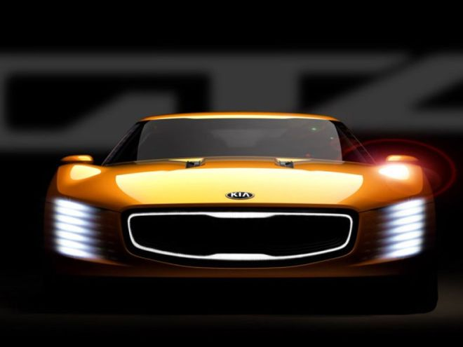 To 315 ίππων εντυπωσιακό κουπέ της Kia, το GT4 Stinger Concept