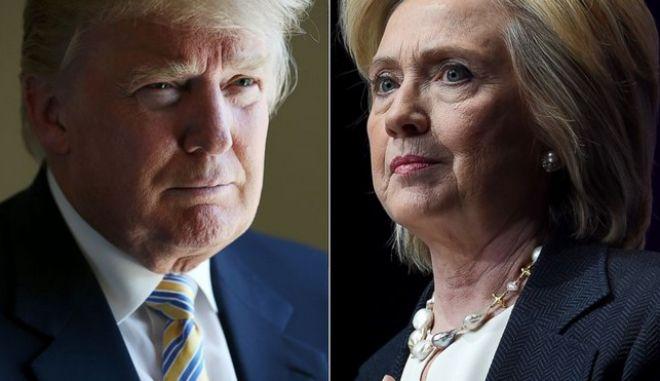 Σούπερ Τρίτη: Προελαύνουν Κλίντον και Τραμπ
