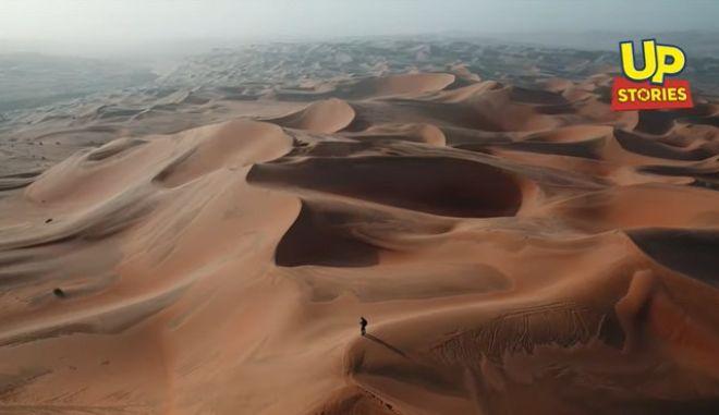 Λίβα: Η έρημος που μας πνίγει στην ζέστη και τη σκόνη από ψηλά