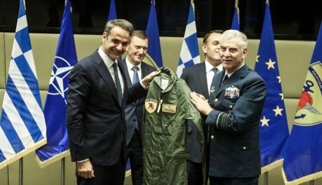 Επίσκεψη του Πρωθυπουργού Κυριάκου Μητσοτάκη στο Υπουργείο Εθνικής Άμυνας