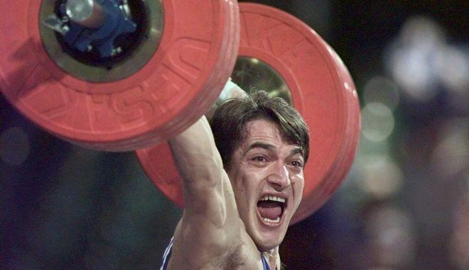 Ο Πύρρος Δήμας στους Ολυμπιακούς Αγώνες της Ατλάντα το 1996