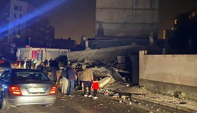 Σεισμός στην Αλβανία: 6,4 Ρίχτερ με δεκάδες τραυματίες