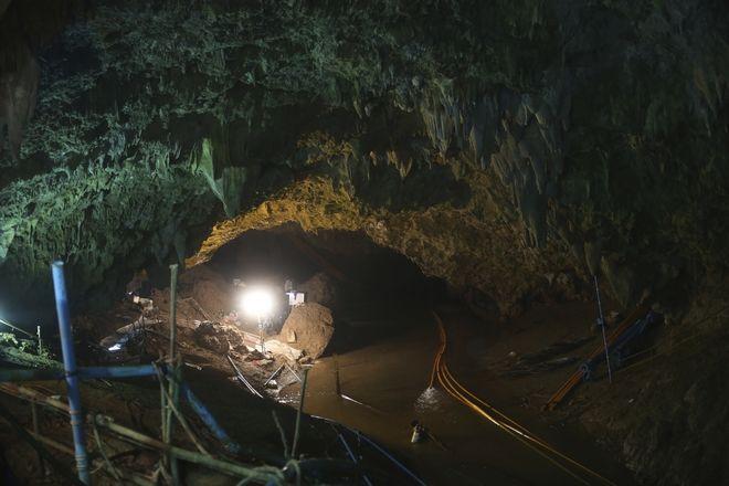 Η σπηλιά που εγκλωβίστηκαν τα 12 αγόρια και ο προπονητής τους στις 23 Ιουνίου