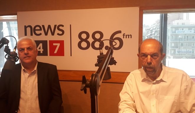 LIVE EIKONA: Ο Νίκος Μπελαβίλας στο στούντιο του News 24/7 στους 88,6