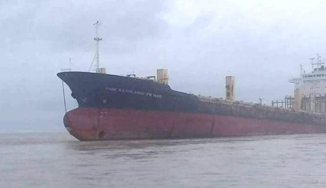 """Πλοίο-""""φάντασμα"""" επανεμφανίστηκε εννέα χρόνια μετά την εξαφάνισή του"""