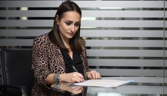 H CEO της 24MEDIA, Μαρία Γράψα
