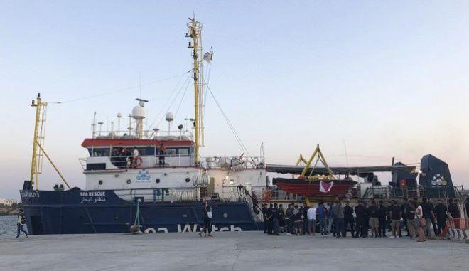 Διαμάχη Ιταλίας - Γερμανίας για την Κάρολα Ράκετε και τη δράση του Sea - Watch