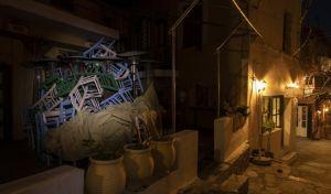 Κλειστό μαγαζί στο κέντρο της Αθήνας λόγω Lockdown