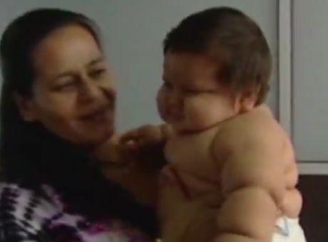 4fd4efc85ea Μωρό γίγας στην Κολομβία: Αν και 8 μηνών ζυγίζει ήδη 21 κιλά ...