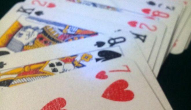 Χαρτιά τράπουλας - Φωτογραφία αρχείου