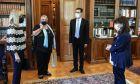 Η Πρόεδρος της Δημοκρατίας Κατερίνα Σακελλαροπούλου συναντήθηκε με μέλη της Επιτροπής Εθνικής Στρατηγικής για την Ισότητα των ΛΟΑΤΚΙ+