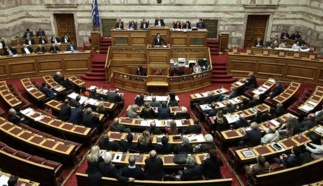 Συνέχιση της συζήτησης και ψήφιση του σχεδίου νόμου του Υπουργείου Εσωτερικών και Διοικητικής Ανασυγκρότησης  «Εθνικό Μητρώο Επιτελικών Στελεχών Δημόσιας Διοίκησης, βαθμολογική διάρθρωση θέσεων, συστήματα αξιολόγησης, προαγωγών και επιλογής προϊσταμένων (διαφάνεια - αξιοκρατία και αποτελεσματικότητα της Δημόσιας Διοίκησης) και άλλες διατάξεις».
