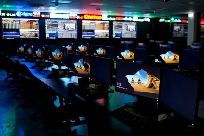 Μία μέρα στο Simulated Trading Room του Deree