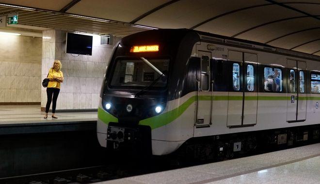 Σταθμός του Μετρό, Αθήνα (φωτογραφία αρχείου)
