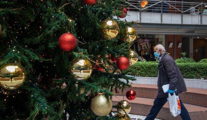 Χριστούγεννα με κορονοϊό στη Θεσσαλονίκη