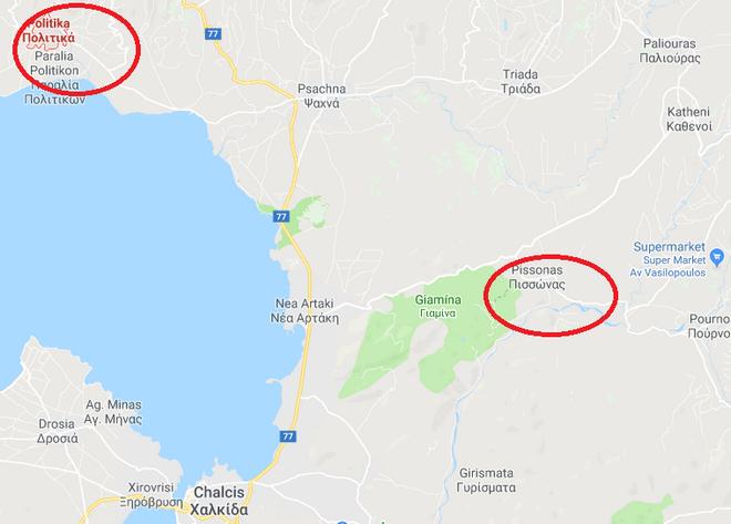 Εύβοια: Φωτιά στα Πολιτικά - Μαίνεται το μέτωπο στον Πισσώνα