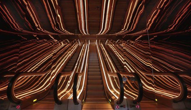 Κυλιόμενες σκάλες στη Νέα Υόρκη