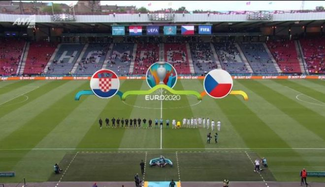 Euro 2020: Ισοπαλία 1-1 για Κροατία και Τσεχία