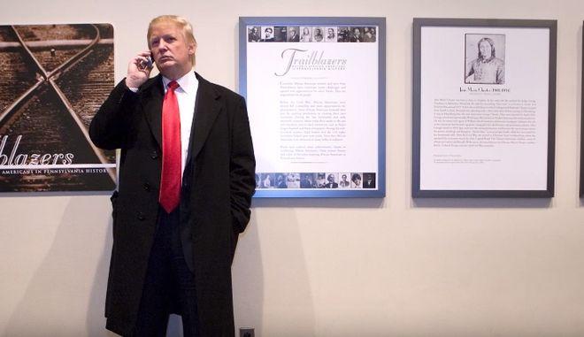 Οι Anonymous χάκαραν τον τηλεφωνητή του Τραμπ. Ντοκουμέντα από το 2012