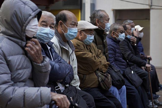 Ηλικιωμένοι στο Χονγκ Κονγκ.