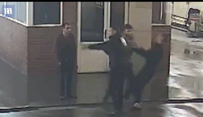 Βίντεο: Οδηγός σκότωσε με μπουνιά εργαζόμενο σε συνεργείο γιατί αργούσε να πλύνει το αυτοκίνητό του