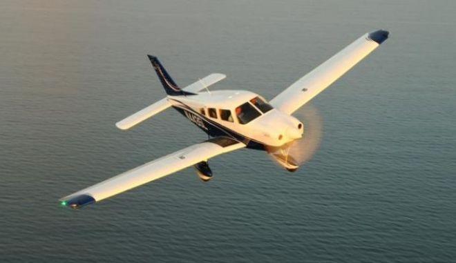 Πτώση διθέσιου αεροπλάνου στο Μεσολόγγι