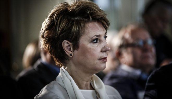 Η Όλγα Γεροβασίλη