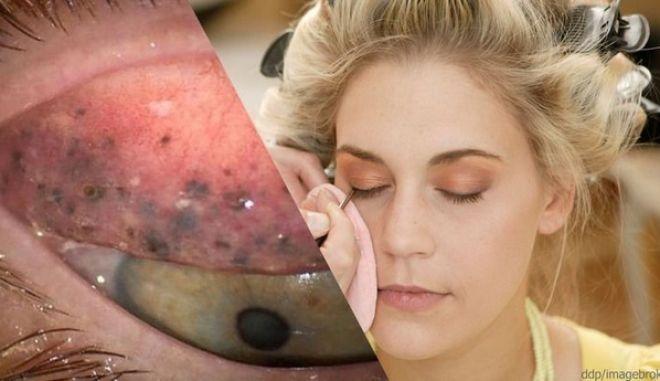 Γυναίκα δεν αφαιρεί το μακιγιάζ της για 25 χρόνια