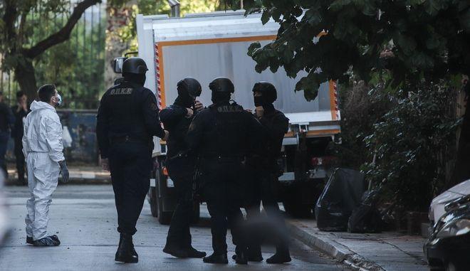 Επιχείρηση της Ελληνικής Αστυνομίας σε υπό κατάληψη κτίριο - Φωτογραφία αρχείου
