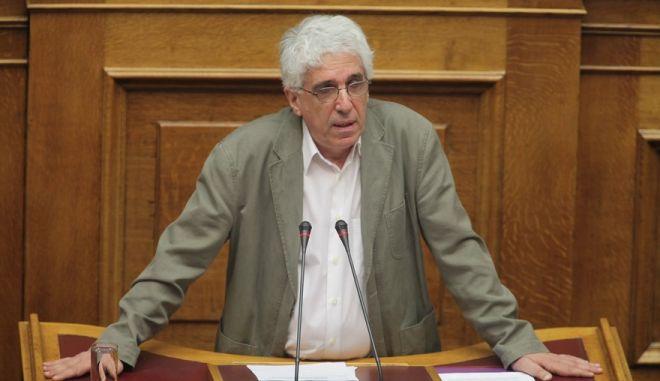 ΑΘΗΝΑ-ΒΟΥΛΗ-Συνεδρίαση των τεσσάρων αρμόδιων Επιτροπών της Βουλής, η συζήτηση του δεύτερου νομοσχεδίου με τα προαπαιτούμενα μέτρα της συμφωνίας με τους εταίρους μνημόνιο 3.(EUROKINISSI-ΠΑΝΑΓΟΠΟΥΛΟΣ ΓΙΑΝΝΗΣ)