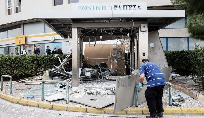 Έκρηξη σε ΑΤΜ εμπορικού κέντρου στην λεωφόρο Βουλιαγμένης