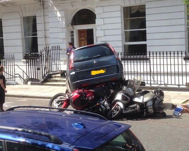 Όταν οι γκάφες των οδηγών πηγαίνουν σε άλλο επίπεδο