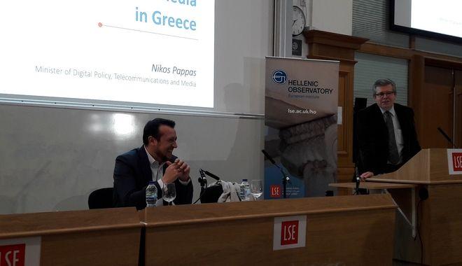 Νίκος Παππάς: Τα παραδοσιακά μέσα είναι συχνότερη πηγή ψευδών ειδήσεων