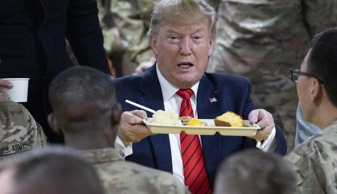 Ο Ντόναλντ Τραμπ στο Αφγανιστάν
