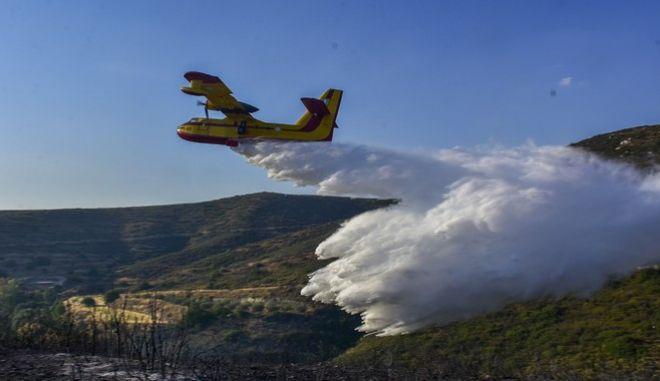 Εικόνα από φωτιά στο Ναύπλιο-Φωτό αρχείου