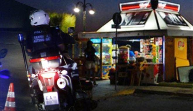 Θήβα: Ληστεία με καραμπίνες σε περίπτερο κοντά στο αστυνομικό τμήμα