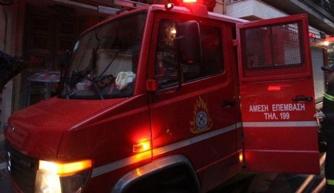 Πυρκαγιά σε μονοκατοικία στην Παλλήνη
