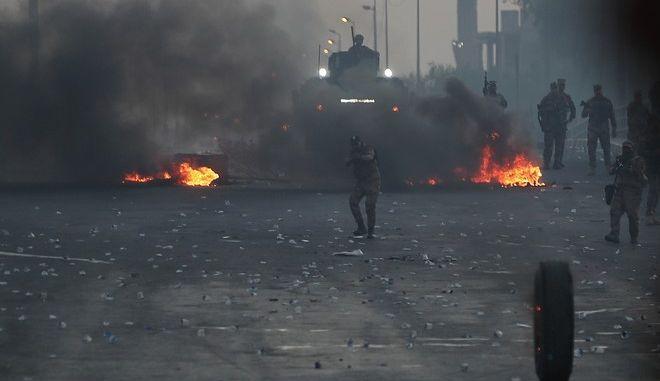Επεισόδια στους δρόμους της Βαγδάτης