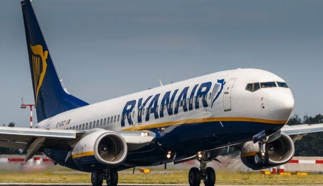 Αεροπλάνο της Ryanair