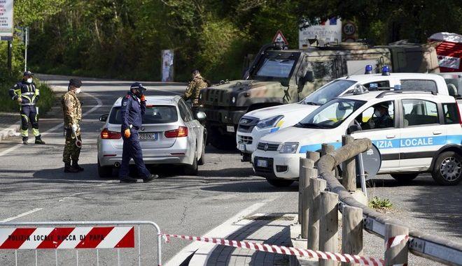Αστυνομικοί στην Ιταλία (φωτογραφία αρχείου)