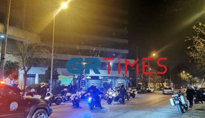 Επεισόδια μεταξύ αλλοδαπών στη Θεσσαλονίκη