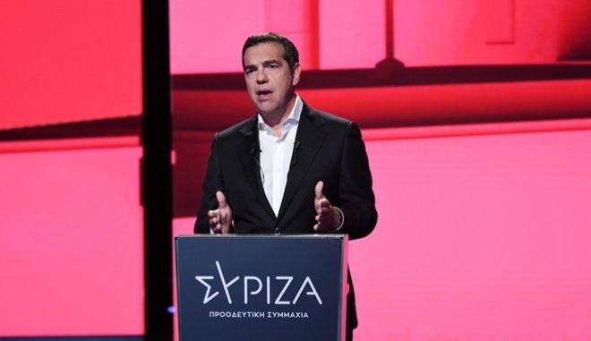 Ο Αλέξης Τσίπρας παρουσιάζει το πρόγραμμα του ΣΥΡΙΖΑ για το Restart της Οικονομίας